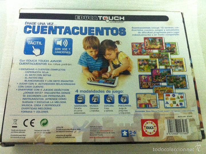 JUEGO EDUCA TOUCH JUNIOR ERASE UNA VEZ...CUENTACUENTOS DE 2-6 AÑOS EDUCA B #7460