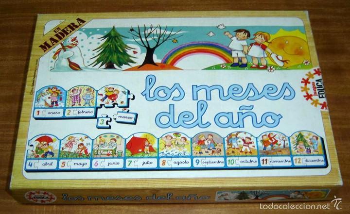 Antiguo Juego De Mesa Puzzle Infantil Educativo Comprar Juegos