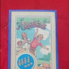 Juegos educativos: ORIGINAL JUEGO DE BOLOS EN MINIATURA DE MADERA.. Lote 59835848