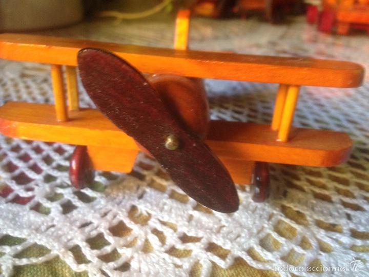 Juegos educativos: Tren y avión de madera artesanal . - Foto 3 - 60154266