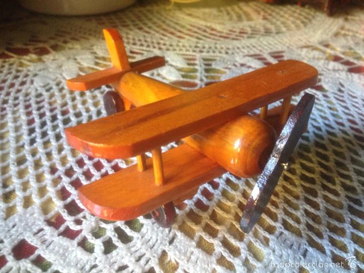 Juegos educativos: Tren y avión de madera artesanal . - Foto 4 - 60154266