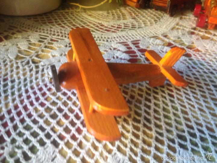 Juegos educativos: Tren y avión de madera artesanal . - Foto 5 - 60154266