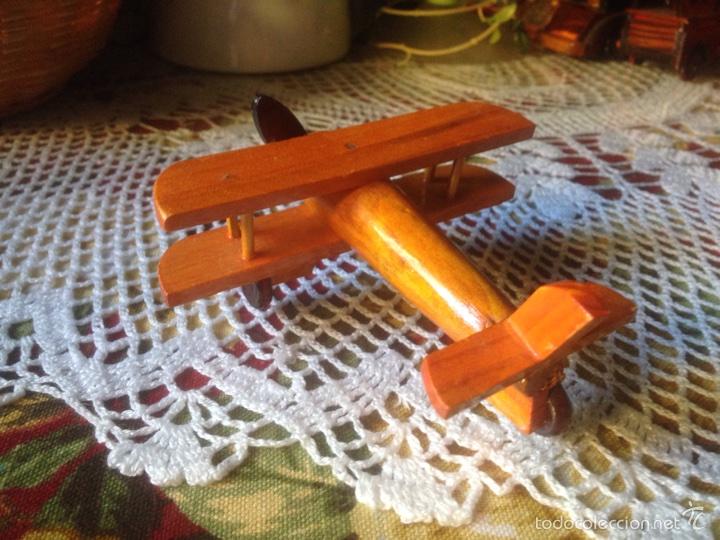 Juegos educativos: Tren y avión de madera artesanal . - Foto 7 - 60154266