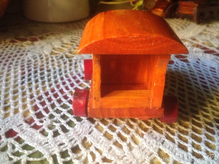 Juegos educativos: Tren y avión de madera artesanal . - Foto 10 - 60154266