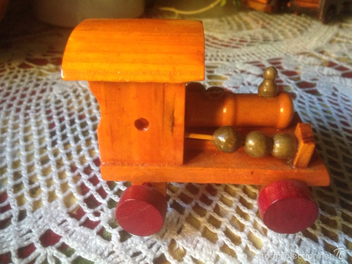 Juegos educativos: Tren y avión de madera artesanal . - Foto 11 - 60154266