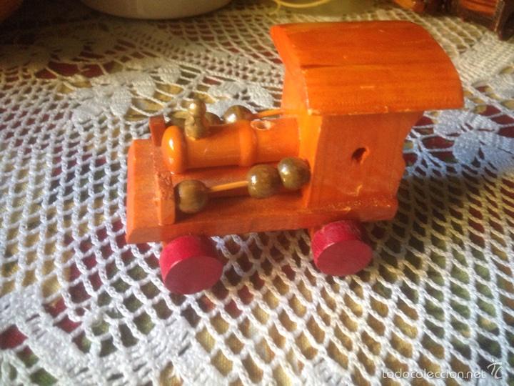 Juegos educativos: Tren y avión de madera artesanal . - Foto 12 - 60154266