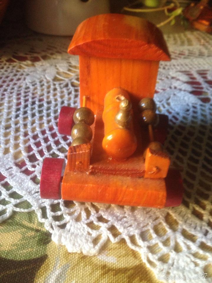 Juegos educativos: Tren y avión de madera artesanal . - Foto 13 - 60154266
