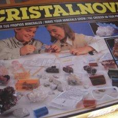 Juegos educativos: CRISTALNOVA, HAZ CRECER TUS PROPIOS MINERALES. Lote 61417187