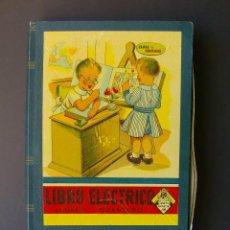 Juegos educativos: LIBRO ELECTRICO TOMO IV JUAN MORALES IDIOMAS, GEOGRAFIA, ESTILOS ARQUITECTURA, ANIMALES PREHISTORIA. Lote 62155752