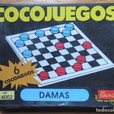 Juegos educativos: JUEGO COCOJUEGOS DAMAS DE EVALAND REF.14002 EVAPAL -PUZZLE MONTAJE CAJA MONTAR COCOLOCOS-. Lote 63489948