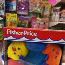Juegos educativos: BLANDI CUENTAS DE COLORES ENCAJABLES SONIDOS.FISHER PRICE AÑO 1998.NUEVO EN CAJA.. Lote 64122539