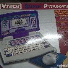Juegos educativos: VTECH ORDENADOR SÚPER PITAGORIN. Lote 64761883