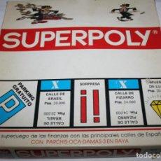 Juegos educativos: ANTIGUO MONOPOLY, SUPERPOLY, FALOMIR JUFASA. Lote 67466261