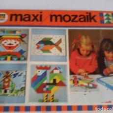 Juegos educativos: MAXI LOTE MAXI MOZAIK DE DISET AÑOS 80. Lote 68389793