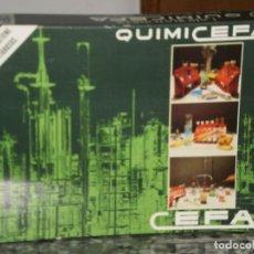 Juegos educativos: JUEGO QUIMICEFA 2 REF:144002 ORIGINAL DE CEFA ( ESPAÑA ) AÑOS 70 . CELOFAN INTERIOR SIN ABRIR. Lote 68602569
