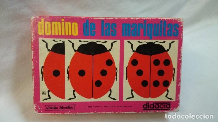 DOMINO DE LAS MARIQUITAS DIDÁCTA 1969 (Juguetes - Juegos - Educativos)