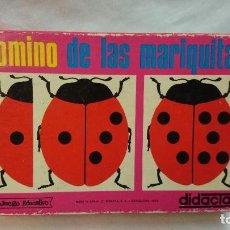 Juegos educativos: DOMINO DE LAS MARIQUITAS DIDÁCTA 1969. Lote 68721117
