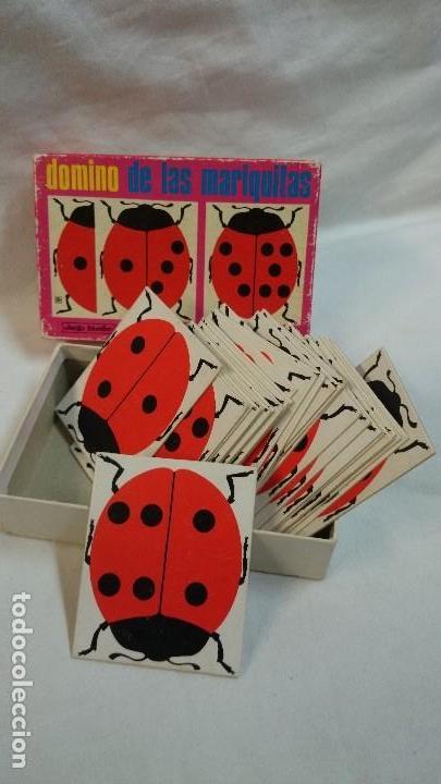 Juegos educativos: DOMINO DE LAS MARIQUITAS DIDÁCTA 1969 - Foto 2 - 68721117