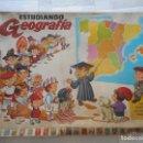 Juegos educativos: ESTUDIANDO GEOGRAFÍA, JUEGO ELECTRÓNICO DE LOS AÑOS 70, DE PSE. Lote 70039725