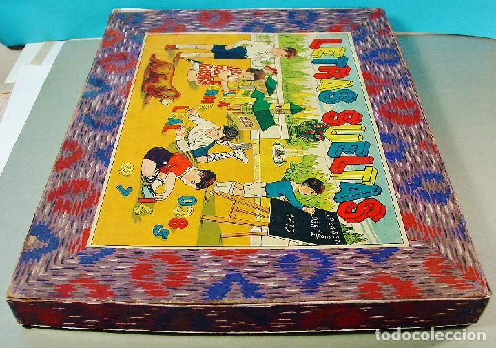 """Juegos educativos: """" LETRAS SUELTAS """" - JUEGO INFANTIL CON LETRAS Y NÚMEROS DE MADERA. AÑOS 30. - Foto 7 - 71771979"""