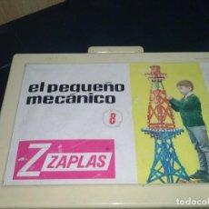 Juegos educativos: PEQUEÑO MECANICO ZAPLAS, ANTIGUO MADE IN SPAIN. Lote 72009023