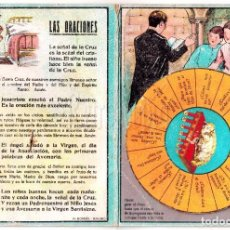 Juegos educativos: JUEGO SIMILAR ADIVINO MÁGICO. RELIGIÓN DOCTRINA CRISTIANA DE PRIMER GRADO. J. TUSQUETS. AÑOS 40. Lote 198576368