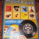Juegos educativos: JUEGO MUSICAL EDUCA . MUSICA VIVA DISCO SINGLE CON MUSICA DE INSTRUMENTOS AÑO 1971. Lote 73077439