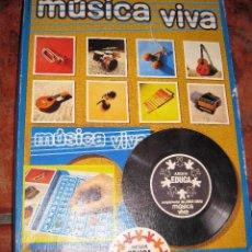 Jeux éducatifs: JUEGO MUSICAL EDUCA . MUSICA VIVA DISCO SINGLE CON MUSICA DE INSTRUMENTOS AÑO 1971. Lote 73077439