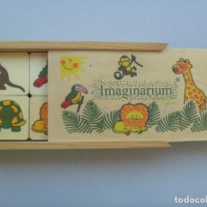 Juegos educativos: JUEGO DE MADERA DE LAS PAREJAS, DE IMAGINARIUM. Lote 73454363
