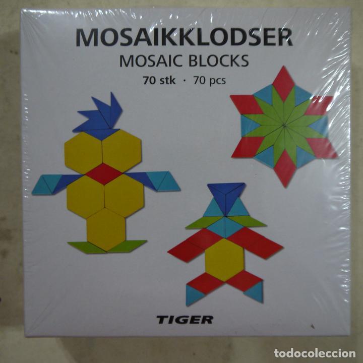 Mosaikklodser Mosaic Blocks 70 Piezas Tiger Comprar Juegos