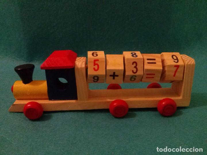 trenes de madera educativosabaco de las letra  Comprar Juegos