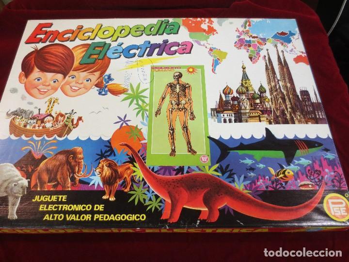 ENCICLOPEDIA ELÉCTRICA MAPA DE ESPAÑA (Juguetes - Juegos - Educativos)