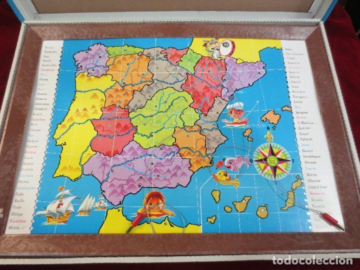Juegos educativos: ENCICLOPEDIA ELÉCTRICA MAPA DE ESPAÑA - Foto 2 - 74565459