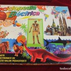 Juegos educativos: ENCICLOPEDIA ELÉCTRICA MAPA DE EUROPA. Lote 74566063
