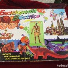 Juegos educativos: ENCICLOPEDIA ELÉCTRICA ESQUELETO HUMANO. Lote 74566411