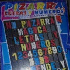 Juegos educativos: PIZARRA LETRAS Y NUMEROS PRESCHOOL.. Lote 74577986