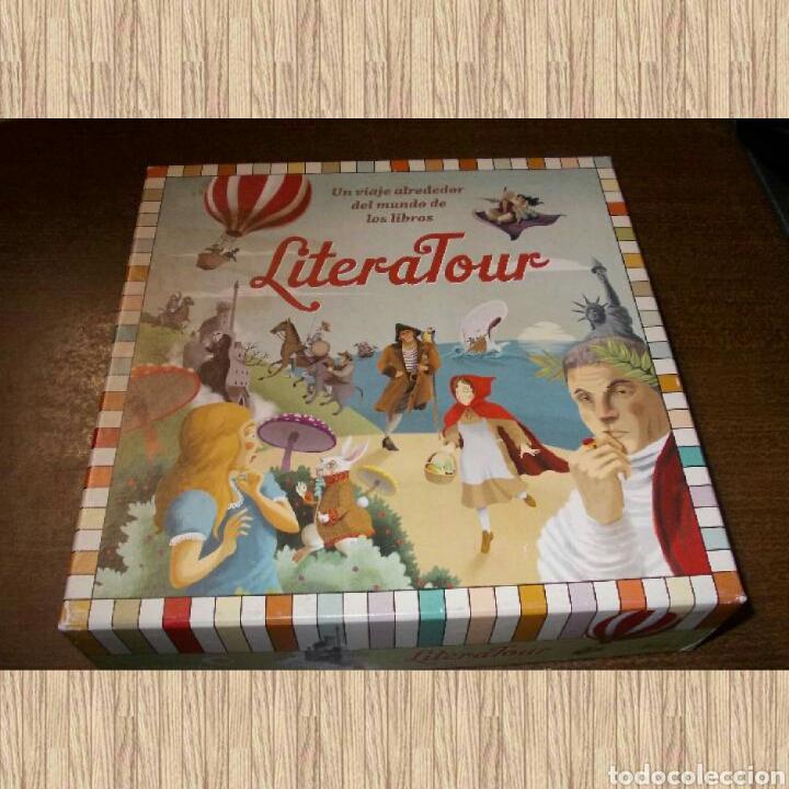LITERATOUR UN VIAJE ALREDEDOR DEL MUNDO DE LOS LIBROS, CIRCULO DE LECTORES 2013, INCOMPLETO (Juguetes - Juegos - Educativos)
