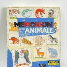 Juegos educativos: EL MEMORION DE LOS ANIMALES, JUEGO EDUCATIVO DE DINOVA. Lote 75220151