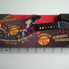 Juegos educativos: LA GUITARRA DE PHINEAS Y FERB. EVEREST 2012.. Lote 75576503