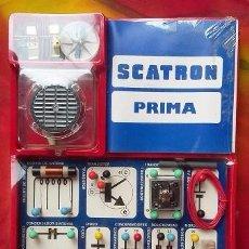 Juegos educativos: SCATRON PRIMA TÉCNICO RADIO 20 CIRCUITOS REF 231 DE ESCALA SA. PRECINTADO, ORIGINAL AÑOS 70-80. Lote 75915643