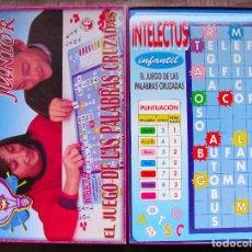 Juegos educativos: INTELECTUS JUNIOR. JUEGO DE PALABRAS CRUZADAS. FALOMIR; EL LEPE, JUEGO DE PREGUNTAS. JUEGOS EDUCA.. Lote 76035639