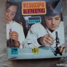 Juegos educativos: MICROSCOPIO KIMING AÑOS 70 JUGUETE.. Lote 76535727