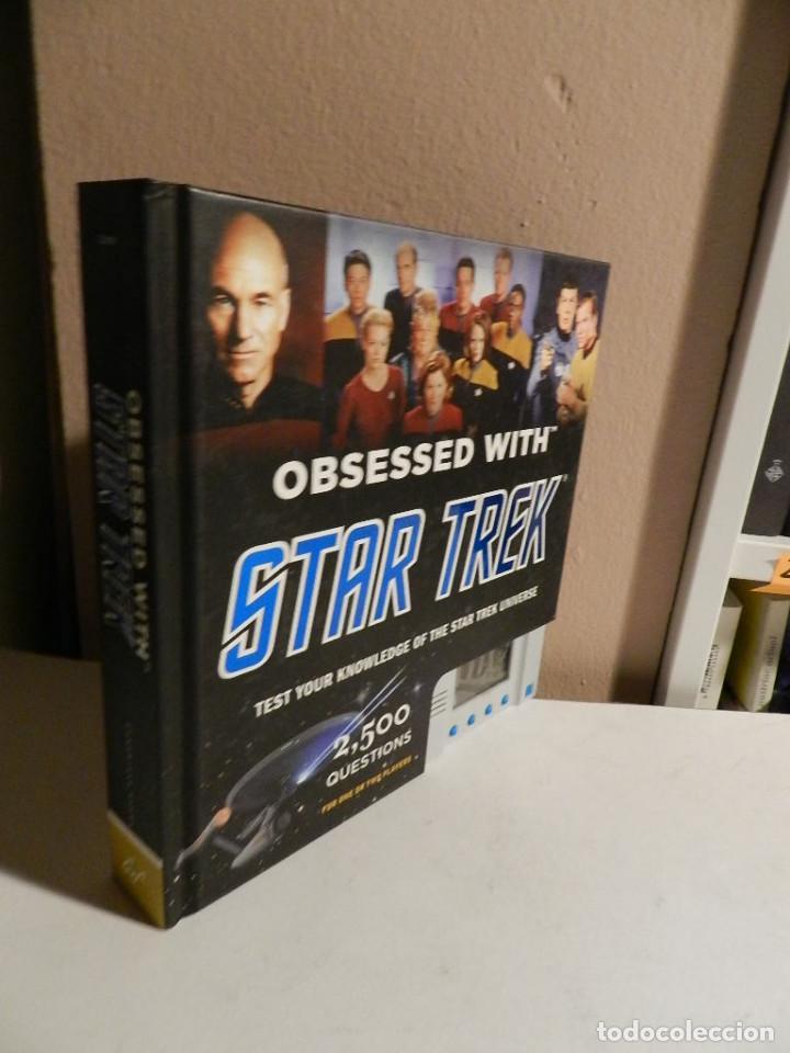 LIBRO JUEGO .- OBSESSED WITH STAR TREK – CHIP CARTER 2011 (Juguetes - Juegos - Educativos)