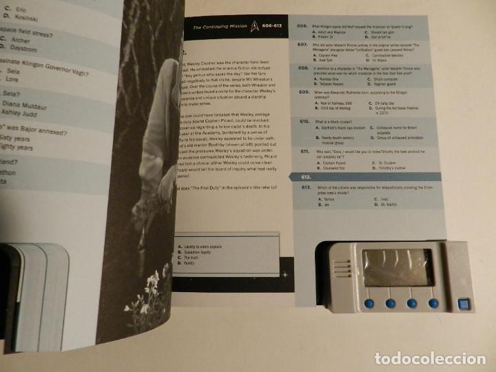 Juegos educativos: LIBRO JUEGO .- OBSESSED WITH STAR TREK – CHIP CARTER 2011 - Foto 5 - 76691583