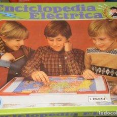 Juegos educativos: ENCICLOPEDIA ELECTRICA , PSE ( MADE IN SPAIN ) REF:1016 - ANATOMIA . NUEVA DE ALMACEN . AÑOS 80. Lote 76715919