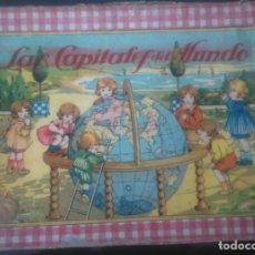 Juegos educativos: ANTIGUO JUEGO EDUCATIVO LAS CAPITALES DEL MUNDO. Lote 77318601