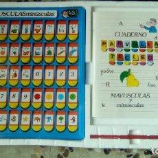 Juegos educativos: JUEGO COMPLETO PARVULÍN TECLEO MAYÚSCULAS Y MINÚSCULAS AÑOS 80 PRECINTADO. Lote 77485945