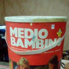 Juegos educativos: JUEGO DE CONSTRUCCIÓN MEDIO BAMBINO AÑOS 70 COMPLETO. Lote 77535237