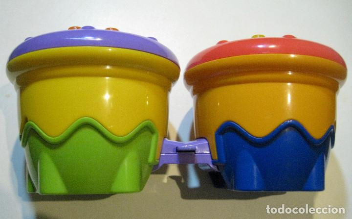 Juegos educativos: BONGOS MUSICALES FISHER PRICE - MATTEL 2006 - Foto 3 - 77569113