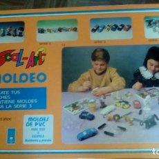Juegos educativos: JUEGO DE MESA MOLDEO COMPLETO. Lote 77737445